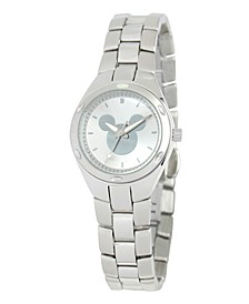 Disney Mickey Mouse Women's Silver Stainless Steel Fortaleza Watch