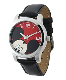Disney Mickey Mouse Men's Silver Alloy Watch