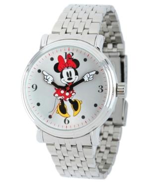 Disney Minnie Boyfriend Unisex Shiny Silver Vintage Alloy Watch