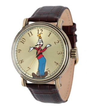 Disney Goofy Men's Antique Gold Vintage Alloy Watch