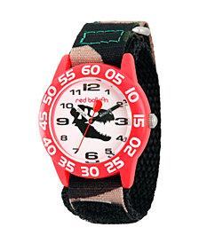 Red Balloon Dinosaur Boys' Red Plastic Time Teacher Watch