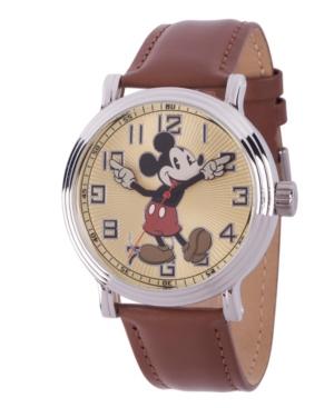 Disney Mickey Mouse Men's Silver Vintage Alloy Watch