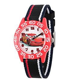 Disney Cars Boys' Red Plastic Time Teacher Watch