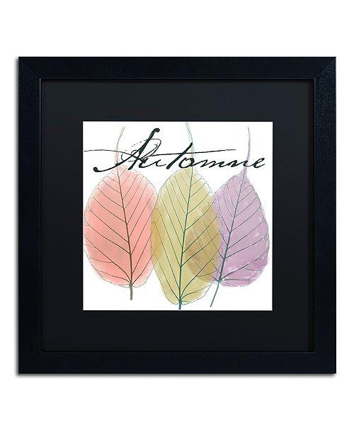 "Trademark Global Color Bakery 'Seasons Ii' Matted Framed Art, 16"" x 16"""