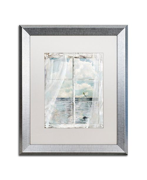 "Trademark Global Color Bakery 'Summer Me Iii' Matted Framed Art, 16"" x 20"""