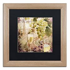 "Color Bakery 'Wine Country I' Matted Framed Art, 16"" x 16"""