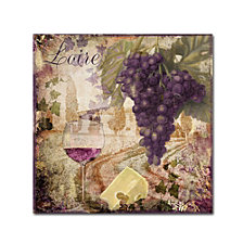 Color Bakery 'Wine Country Ii' Canvas Art