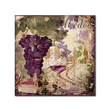 Color Bakery 'Wine Country Iv' Canvas Art
