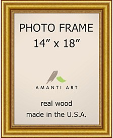"""Townhouse Gold 14"""" X 18"""" Opening Wall Picture Photo Frame"""