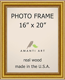 "Amanti Art Townhouse Gold 16"" X 20"" Opening Wall Picture Photo Frame"