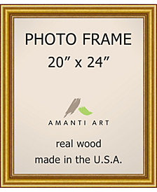 "Amanti Art Townhouse Gold 20"" X 24"" Opening Wall Picture Photo Frame"