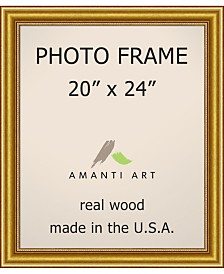"""Amanti Art Townhouse Gold 20"""" X 24"""" Opening Wall Picture Photo Frame"""