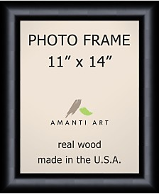 "Amanti Art Steinway Black 11"" X 14"" Opening Wall Picture Photo Frame"