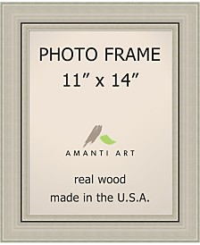 "Amanti Art Romano Silver 11"" X 14"" Opening Wall Picture Photo Frame"