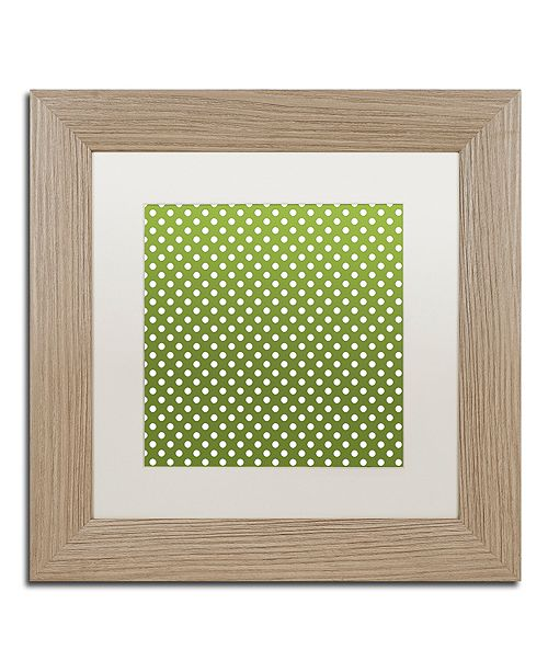 """Trademark Global Color Bakery 'Sweet Holiday Vi' Matted Framed Art, 11"""" x 11"""""""