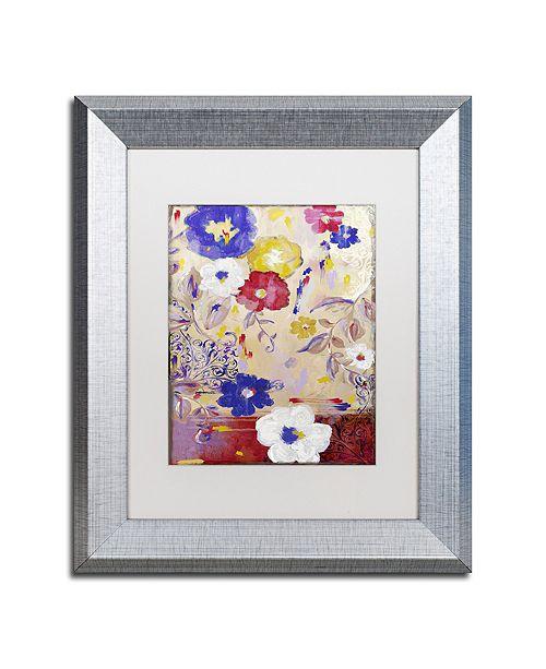 "Trademark Global Color Bakery 'Sevilla I' Matted Framed Art, 11"" x 14"""