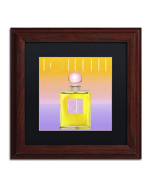"""Trademark Global Color Bakery 'Colored Scents Ii' Matted Framed Art, 11"""" x 11"""""""