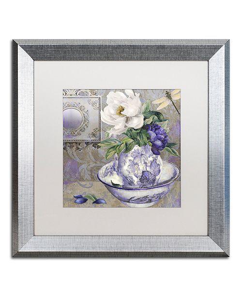 "Trademark Global Color Bakery 'Tableaux I' Matted Framed Art, 16"" x 16"""