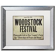 "Color Bakery 'Woodstock' Matted Framed Art, 16"" x 20"""