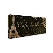 Color Bakery 'Cafe De Paris' Canvas Art