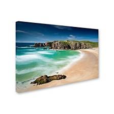 """Michael Blanchette Photography 'Beach At Mangersta' Canvas Art, 12"""" x 19"""""""