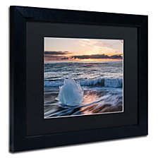 Michael Blanchette Photography 'Crystal Floret' Matted Framed Art