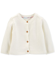 Carter's Baby Girls Cotton Cardigan
