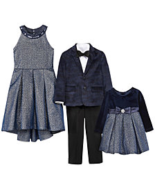 Rare Editions & Nautica Girls & Boys Holiday Dresses and Dresswear