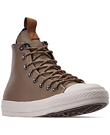 Converse Men's Jack Purcell Desert Storm Leather Hi Casual Sneakers from Finish Line