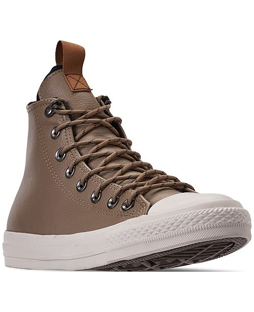 3458ca086a60 ... Converse Men s Jack Purcell Desert Storm Leather Hi Casual Sneakers  from Finish ...