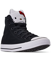 73b82c54b9c Converse Unisex Chuck Taylor High Top Hello Kitty Casual Sneakers from  Finish Line