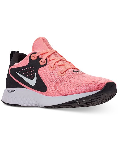 new concept 63af2 d7c09 ... Nike Women s Legend React Running Sneakers from Finish ...