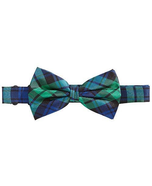 0ce02f602 Lauren Ralph Lauren Big Boys Plaid Silk Bow Tie   Reviews - All Kids ...