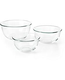 3-Pc. Glass Bowl Set