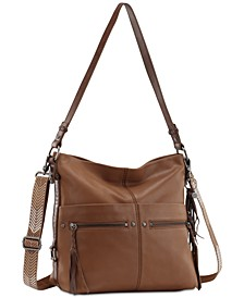 Ashland Leather Bucket Hobo