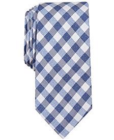 Nautica Men's Lanier Plaid Slim Silk Tie
