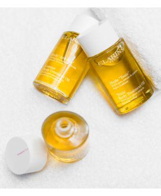 clarins huile tonic body treatment oil