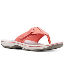 295c63d19f9f Clarks Collection Women s Brinkley Sail Flip-Flops