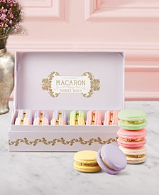 Two's Company Macaroon Limoges Trinket Boxes, Set of 12