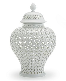 Carthage Large Pierced Covered Lantern