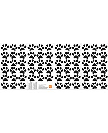 Paw Prints Wall Art Kit
