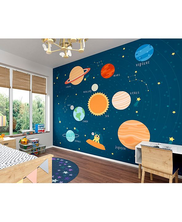 Brewster Home Fashions Outer Space Wall Mural