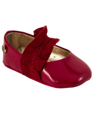 Jessica Simpson Youth Kids Red Patent Flat