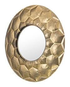Sei Round Mirror Gold