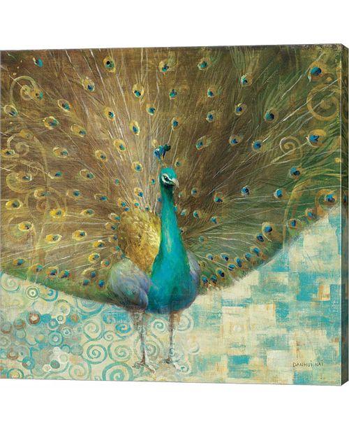 Metaverse Teal Peacock on by Danhui Nai