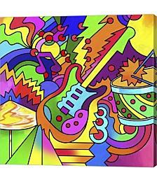 Pop Art Guitar by Howie Green