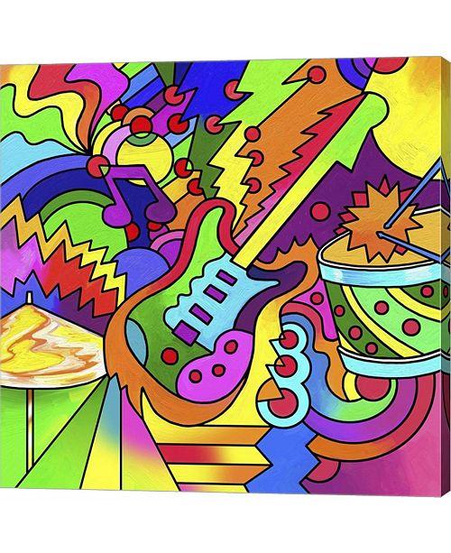 Metaverse Pop Art Guitar by Howie Green