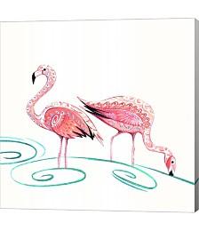 Flamingos by P.S. Art Studios