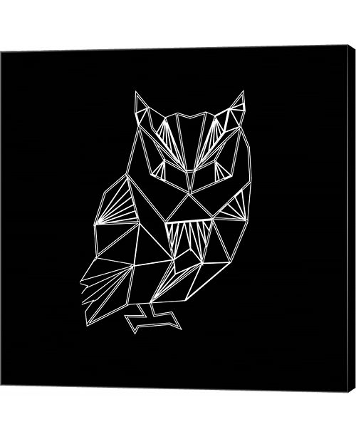 Metaverse Owl Polygon by Lisa Kroll