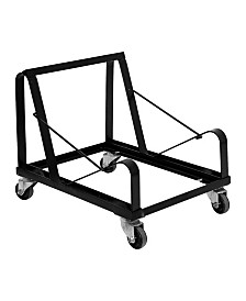 Offex Steel Sled Base Stack Chair Dolly